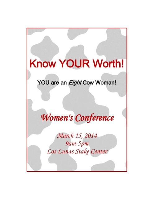 2014 Women's Conference Catalog