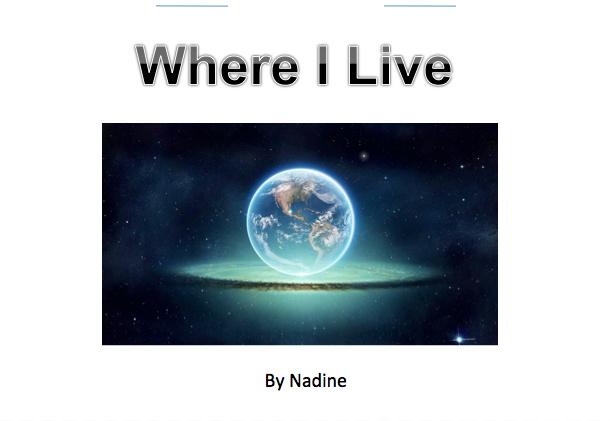 Where I Live flip-book