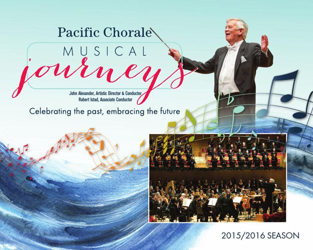 Pacific Chorale 15-16 Season Brochure