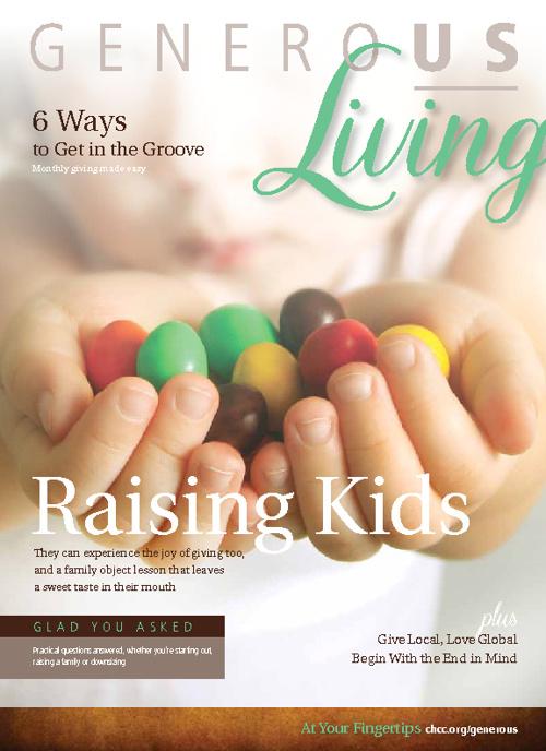 Generous Living Magazine