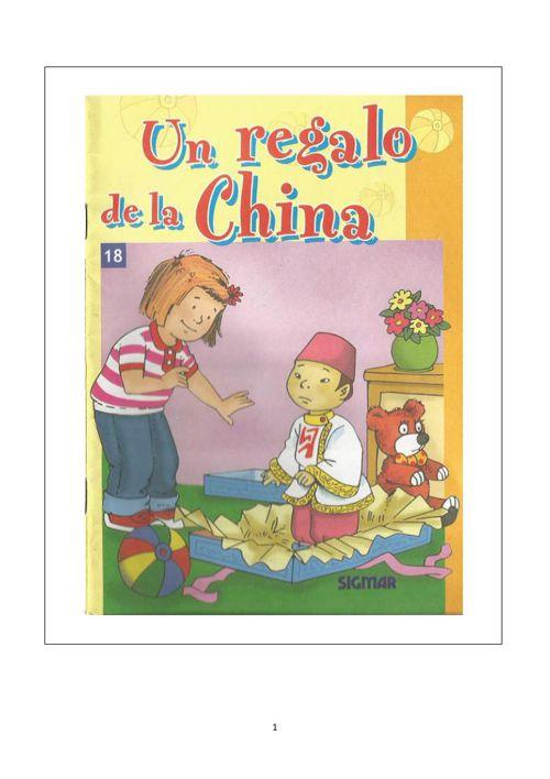 un regalo de la china