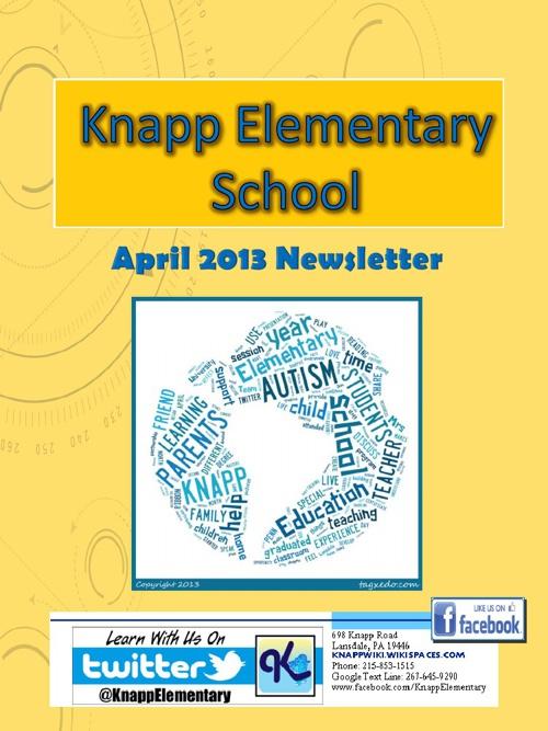Knapp eNewsletter - April 2013
