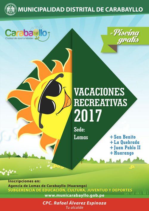 Vacaciones Útiles 2017 Agencia Lomas