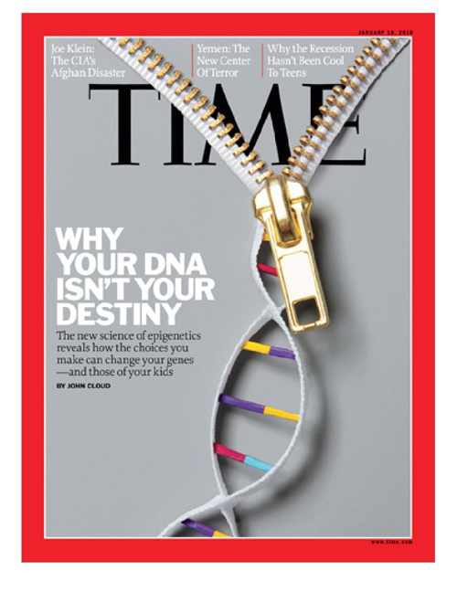 TIME : Why Your DNA Isn't Your Destiny