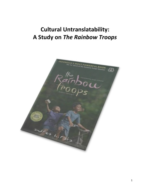 Cultural Untranslatability: A Study on The Rainbow Troops