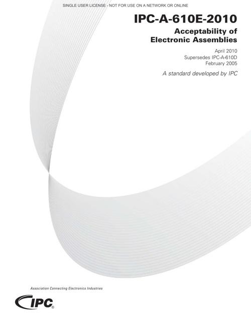 IPC-A-610E-English(L) ACCEPTABILITY OF ELECTRONIC ASSEMBLIES