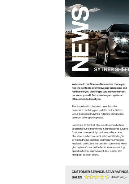 Sytner Sheffield BMW Newsletter