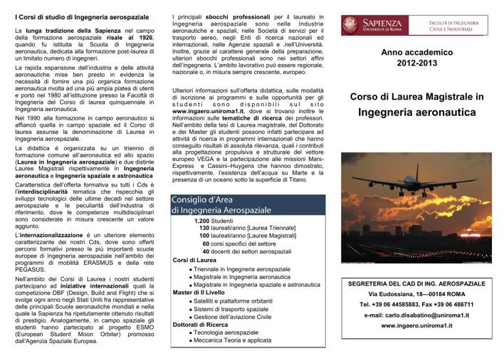 LM Aeronautica 2012-2013
