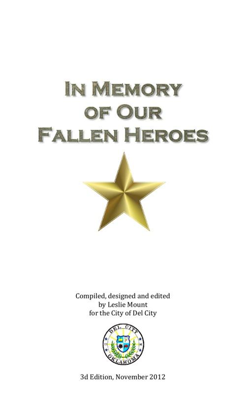 In Memory of Our Fallen Heroes