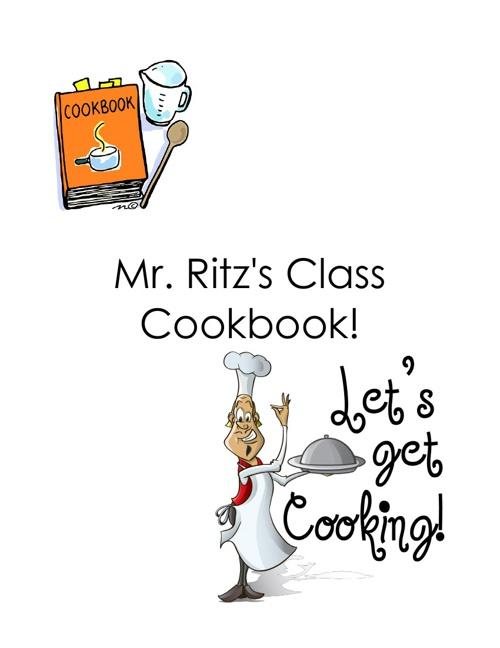 1st Grade Cook Book 2013