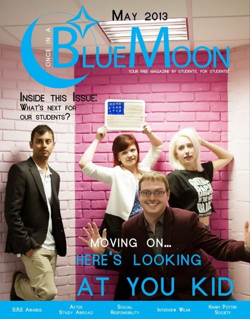 BlueMoon 2012 - 2013, Issue 5