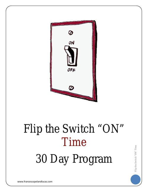 TIME - 30 Day Program Workbook - CHAPTER 1