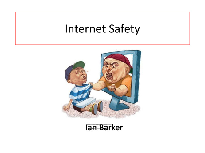 G8 Internet Safety Ian Barker