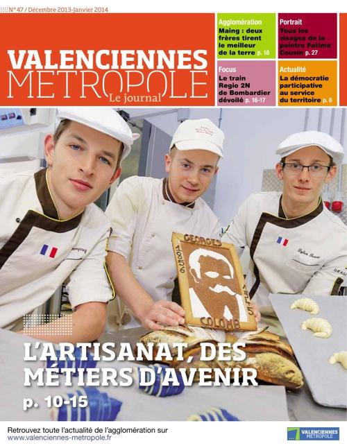 Valenciennes Métropole, le journal n° 47