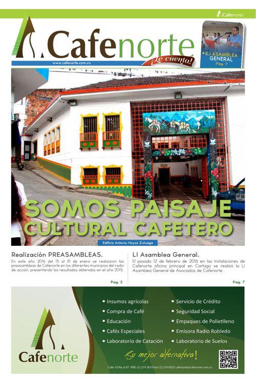 periódico Cafe Norte Le cuenta edición N.21