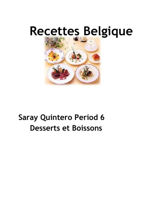 Recette Belge