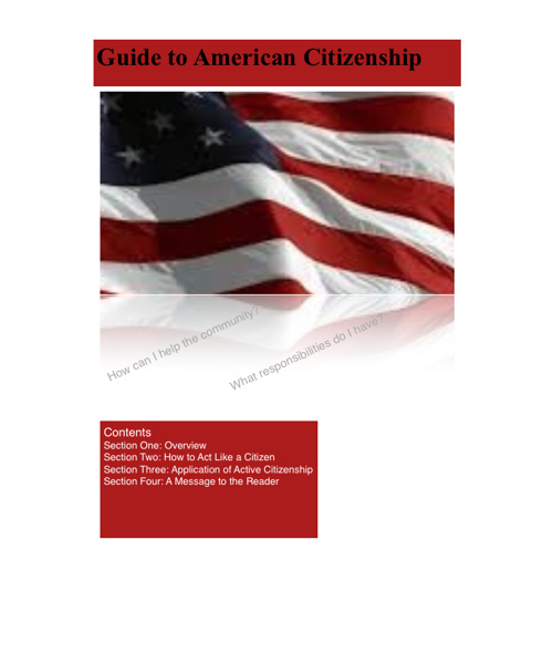 Guide to American Citizenship