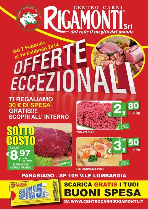 Centro Carni Rigamonti - Offerte Eccezionali