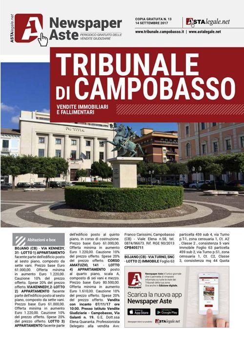 Campobasso 14 settembre 2017