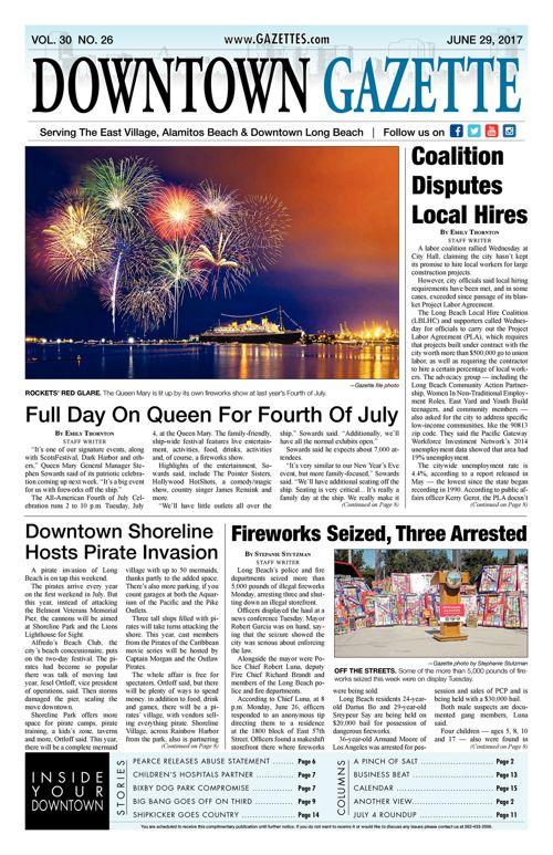 Downtown Gazette  |  June 30, 2017