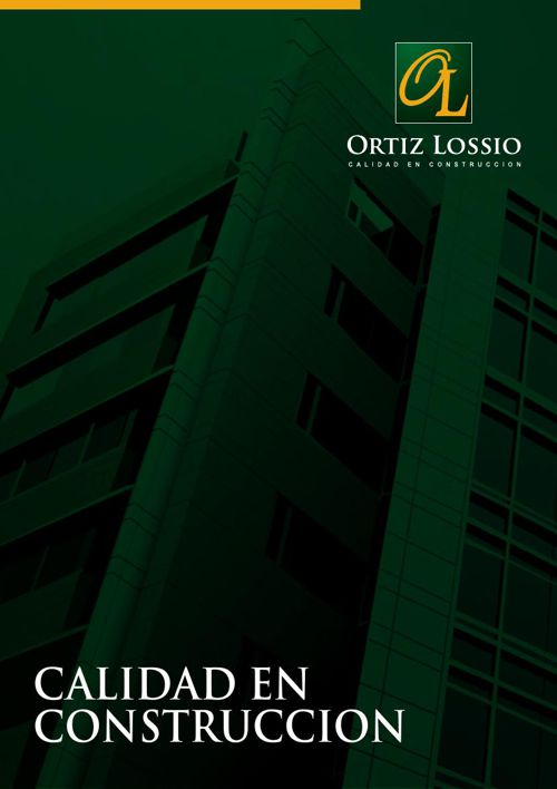 Presentación Ortiz Lossio SRL