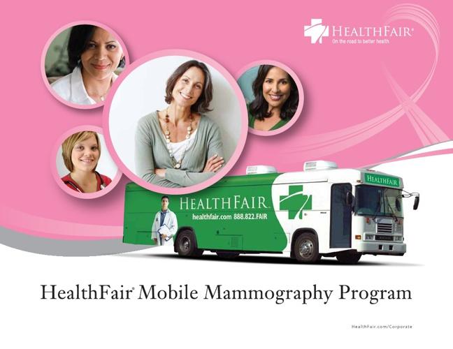 HealthFair Mobile Mammography Program