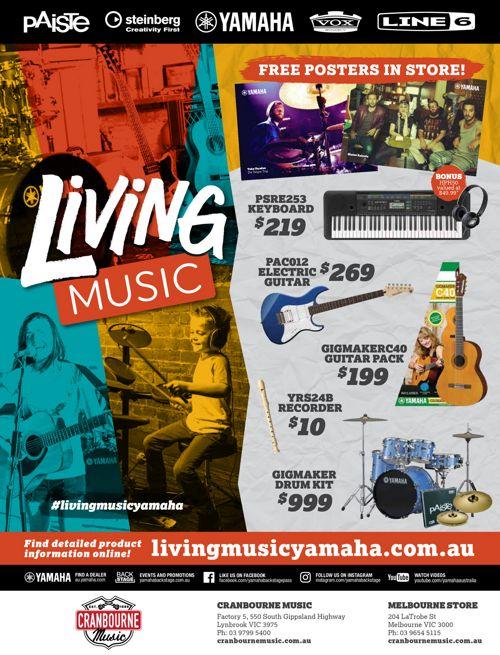Cranbourne Music Living Music 2016