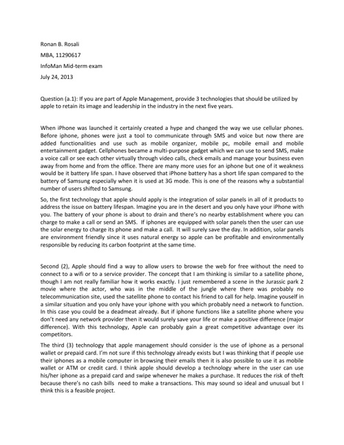 Informan midterm exam by R.Rosali