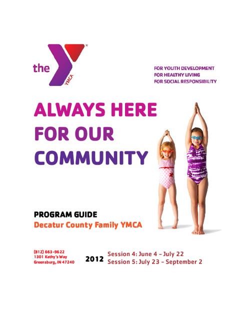 Sessions 4 & 5 Program Guide