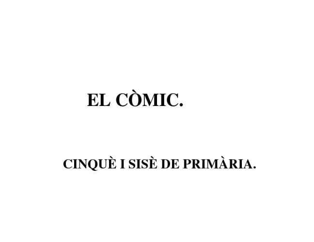El Còmic