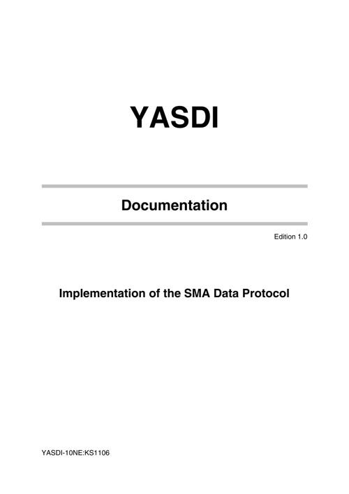 YASDI-10NE1106