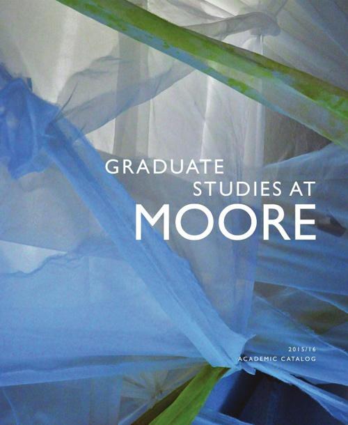 Graduate Studies at Moore 2014-15