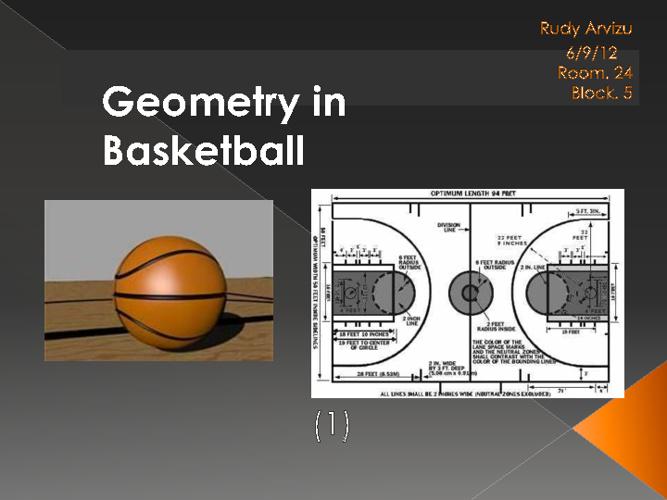 Geometry in Basketball