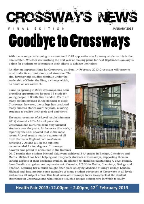 Crossways News