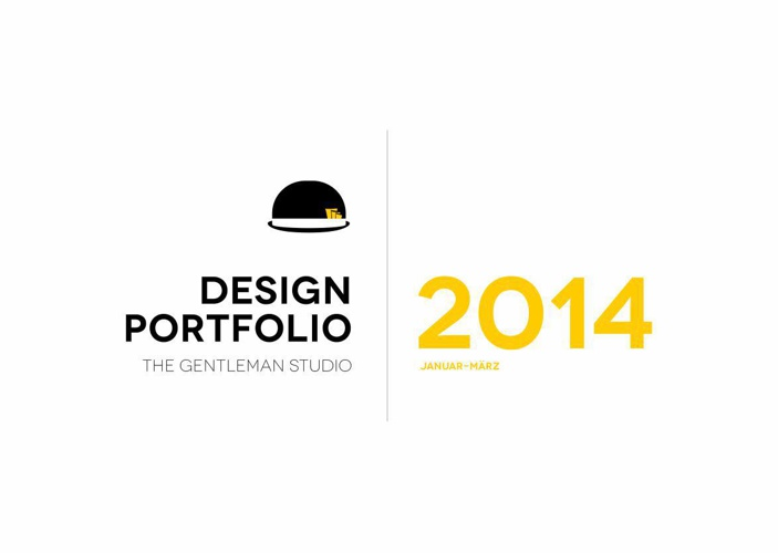 The Gentleman Studio Design Portfolio Januar-Maerz 2014