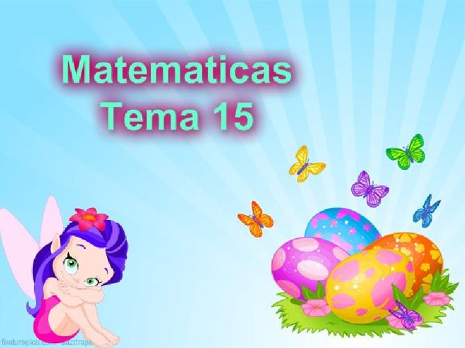 matematicas 15