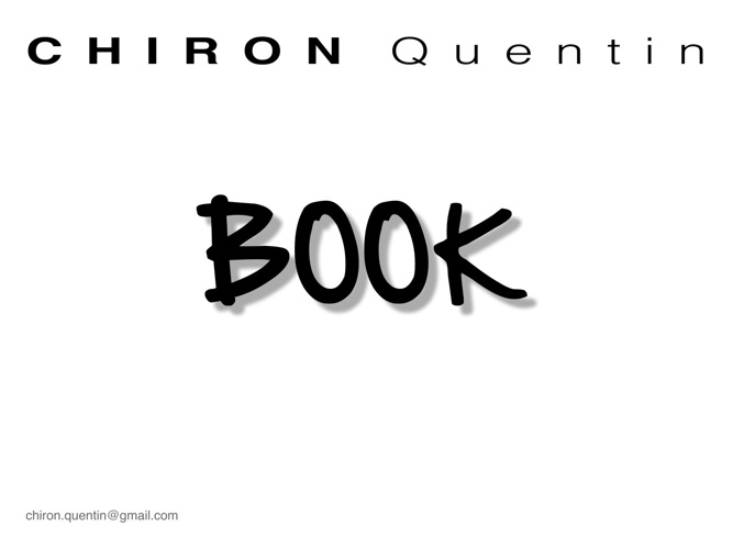 Book de Chiron Quentin