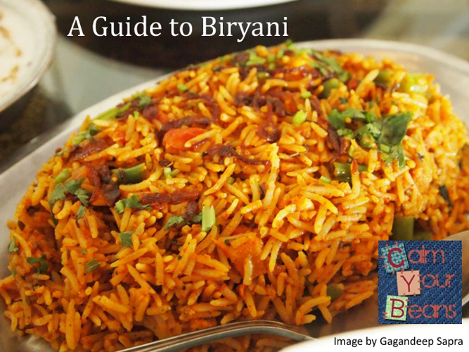 A guide to Biryani