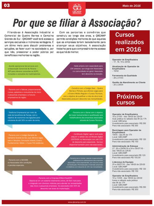 Informativo QBCAMP