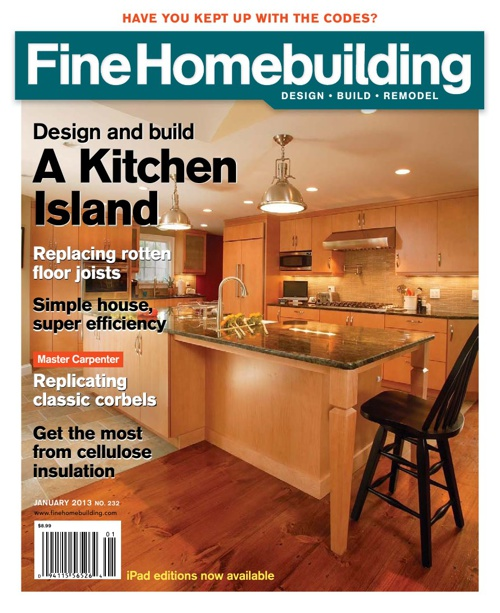 Fine Home-building Issue 232