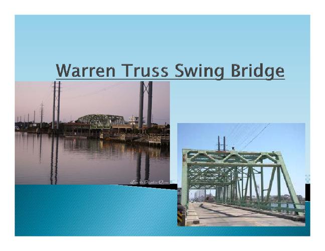 warren truss swing bridge