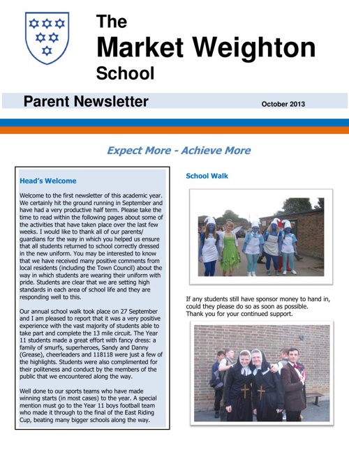 School Newsletters