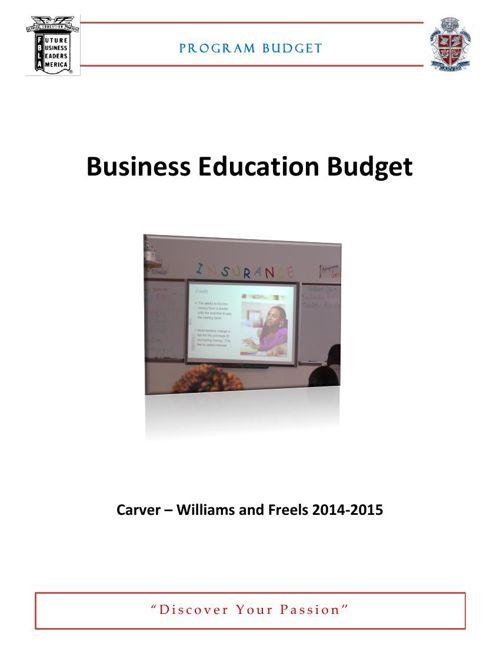 Program Budget