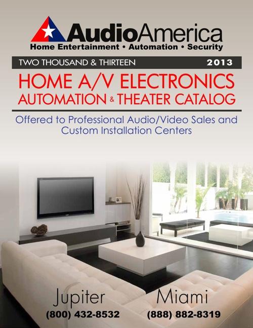 Audio America 2013 Home Catalog