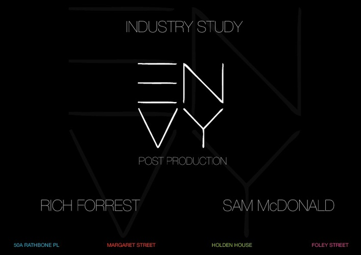Envy Industry Study
