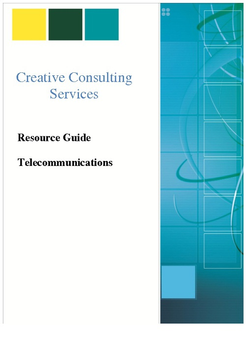 OF Resource Guide Telecommunications