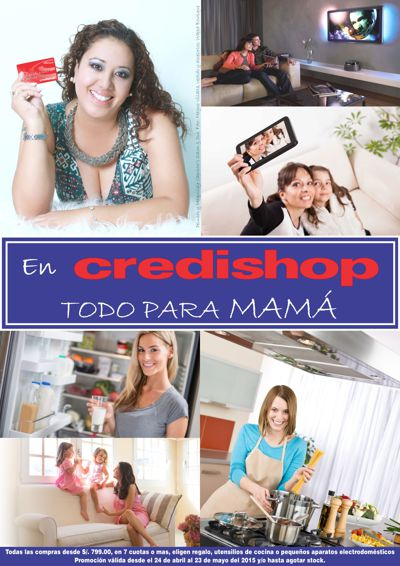 CATALOGO CREDISHOP MAMÁ 2015