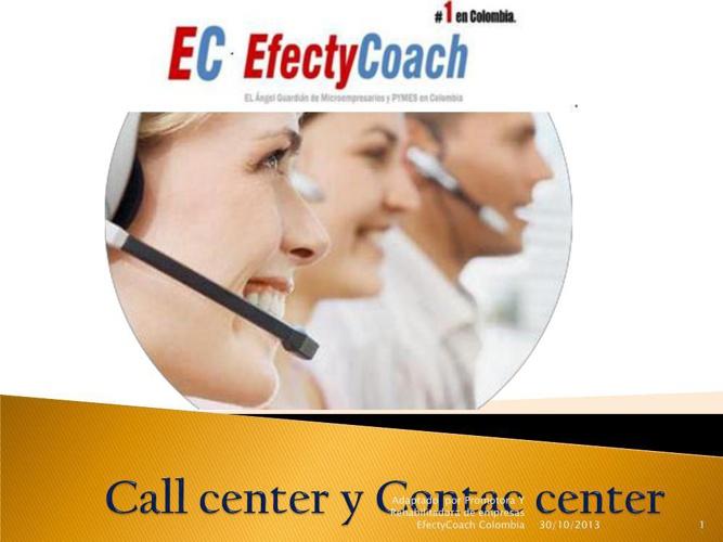Call center y contac center