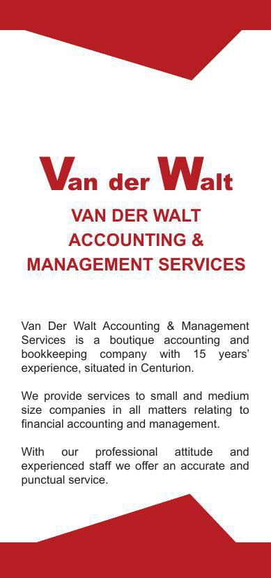 Van der Walt Accounting Services