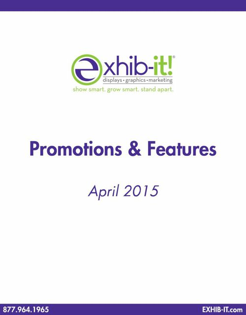 Trade Show Promotions, Discounts & Features
